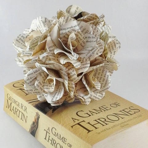Game of Thrones Paper Roses