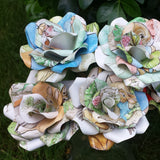 Peter Rabbit Paper Roses