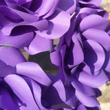 Dark Purple Paper Roses