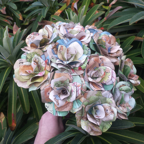 Peter Rabbit Paper Flowers