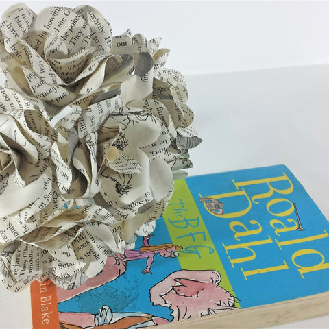 Roald Dahl The BFG Paper Flowers