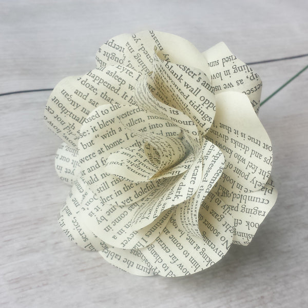 Wuthering Heights Paper Flower