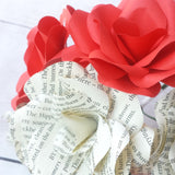 Harry Potter & Red Paper Flowers