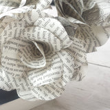 Pride & Prejudice Book Paper Flower Bouquet