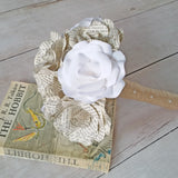 The Hobbit Book Paper Flower Bridal Bouquet