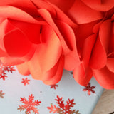12 x Red Paper Roses - Handmade Paper Flowers