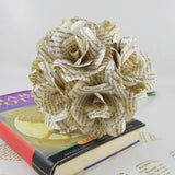6 x Harry Potter Book Paper Roses