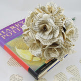 6 x Harry Potter Book Flowers Roses