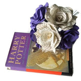 6 x Harry Potter Roses & Purple Roses Mixed Bouquet