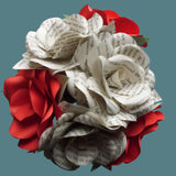 Harry Potter Book Roses & Red Roses Mixed Bouquet 4