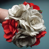 Harry Potter Book Roses & Red Roses Mixed Bouquet