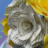 6 x Harry Potter Roses & Yellow Roses Bouquet - Hufflepuff House Colours