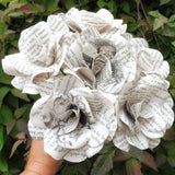 Alice in Wonderland Paper Flowers