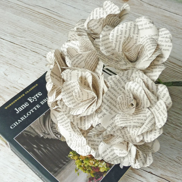 Jane Eyre Paper Flowers