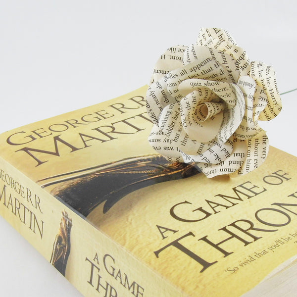 Games of Throne Paper Flower