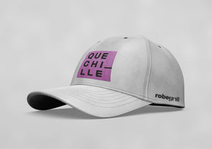 Gorra ¡Que Chille! White Edition