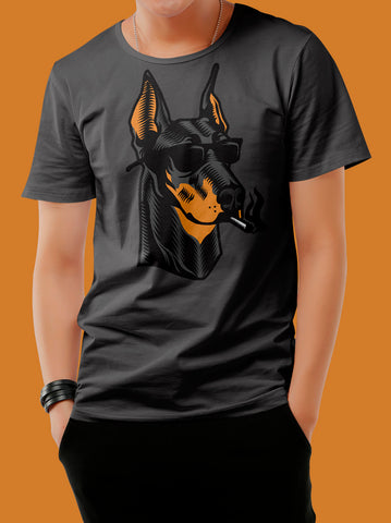 Playera Smoking Dog para Hombre - Urban Hangers