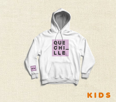 Hoodie ¡Que Chille! White Edition KIDS