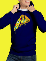 Hoodie Melted Pizza Unisex