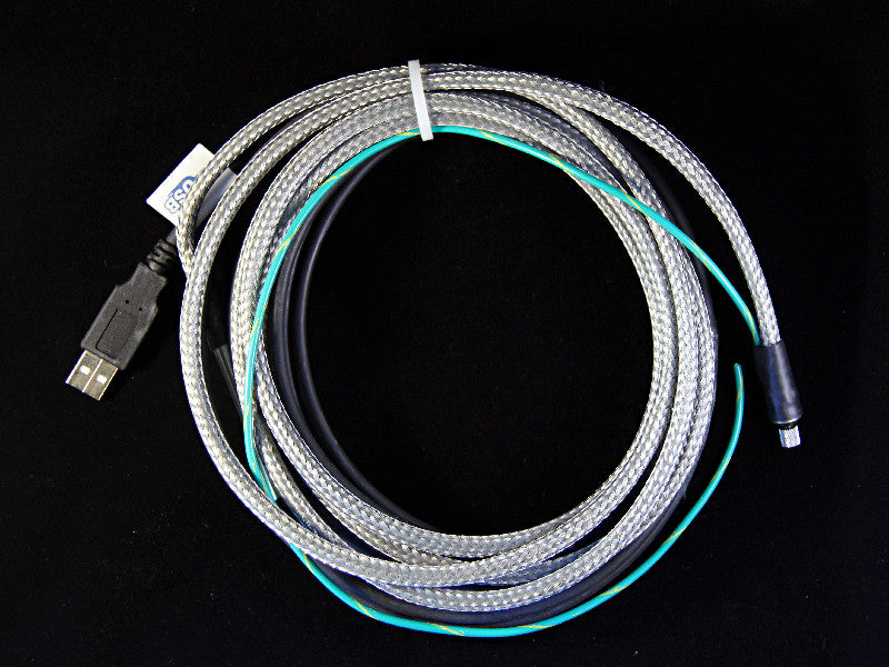 IP67 Armored Chemical Resistant Industrial USB Sensor Cable