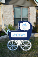 Load image into Gallery viewer, Navy Baby Carriage