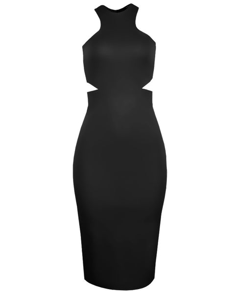 Inighi Dual Open Side Midi Dress