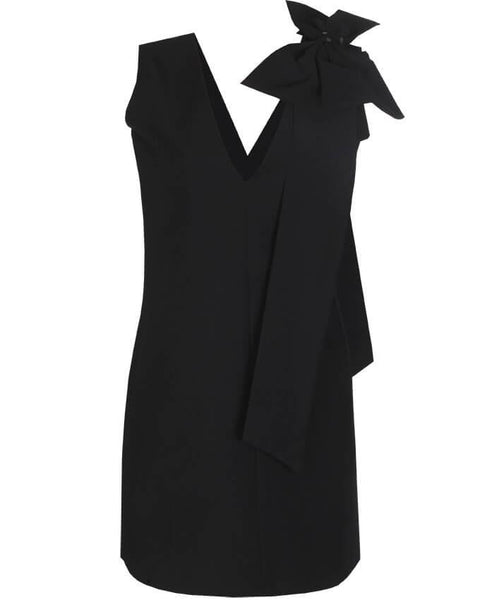 Inighi Sleeveless Bow Detail Shift Dress