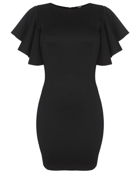 Inighi Flare Sleeves Pencil Dress