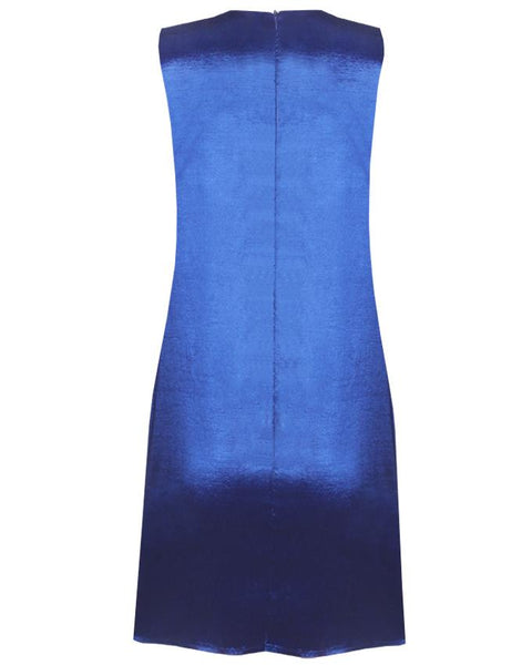 Inighi Asymmetric Overlap Shift Dress