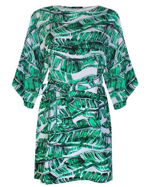 Inighi Belted Print Shift Dress  (Not available for express delivery)
