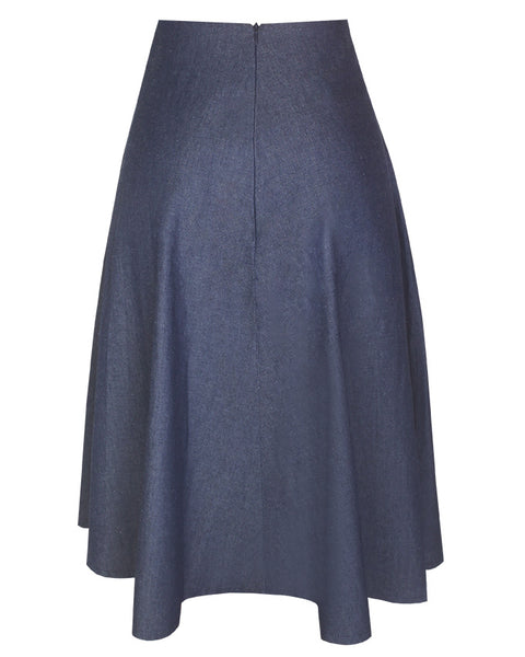 Inighi Frontal Button Detail Skirt