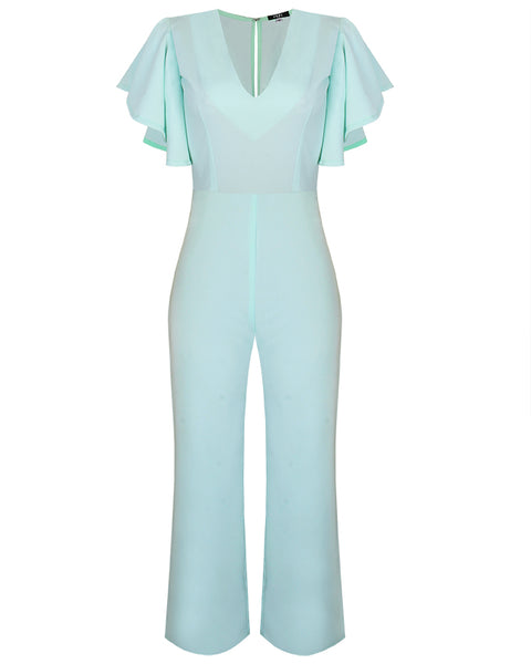 Inighi Circle Sleeves Jumpsuit (Pre-Order Only)