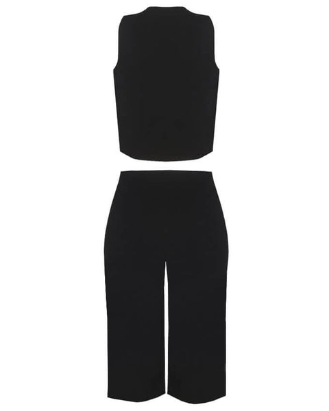 Inighi Culottes and Crop Jacket Set