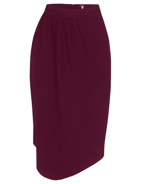 Inighi Draped Waist Skirt - Deep Purple