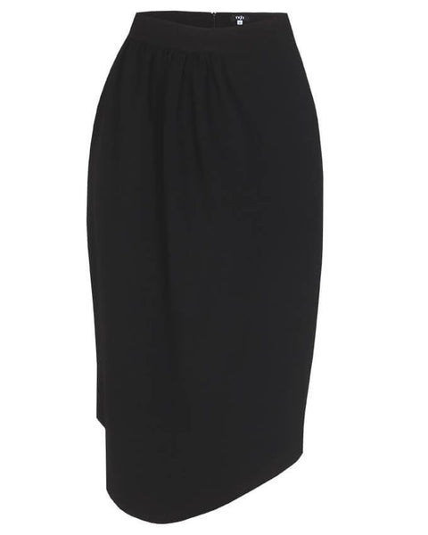 Inighi Draped Waist Skirt -Black (Not available for express delivery)
