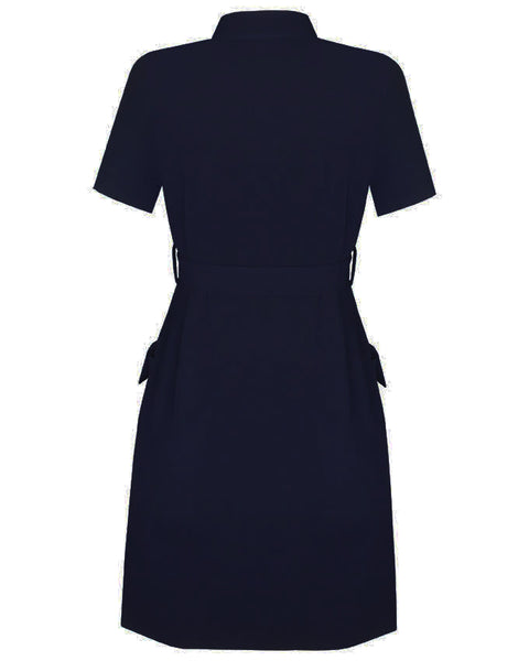Inighi Frontal Pocket Belted Dress