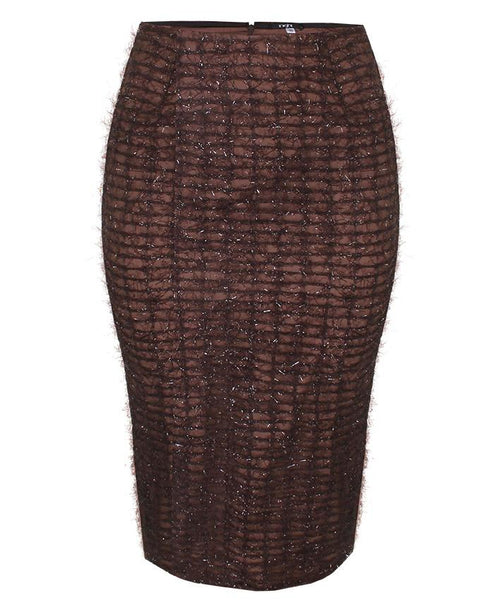 Inighi Brown Lace Skirt