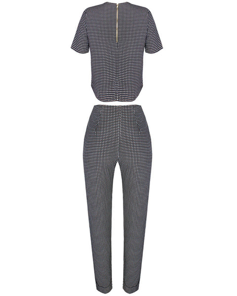 Inighi Monochrome Top & Pant Set