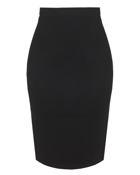 Inighi Pencil Skirt - Coal Black