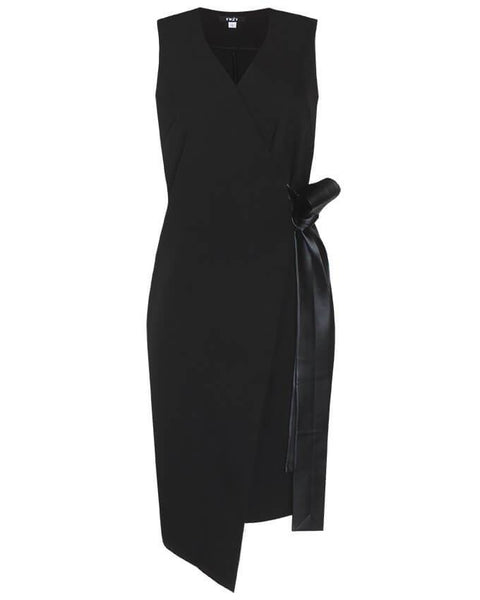 Inighi Side Belted Wrap Dress (Pre-Order Only)