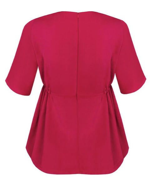 Inighi Side Gathered Detail Blouse