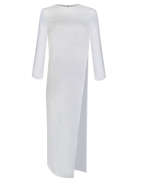 Inighi Side Slit Maxi Top - White