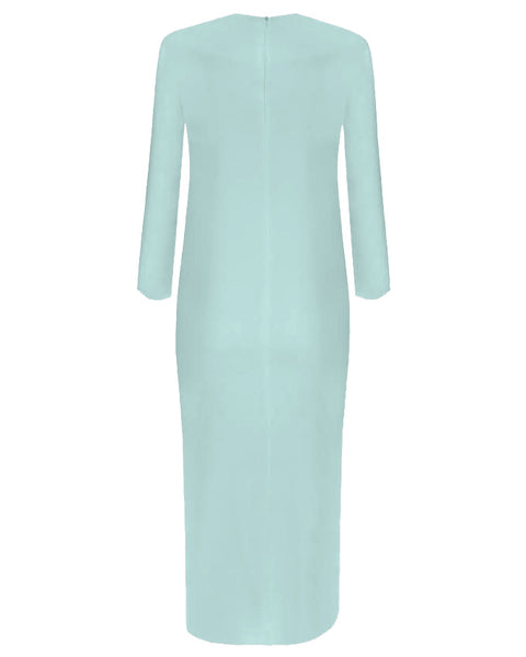 Inighi Side Slit Maxi Top - Mint (Pre - Order Only)