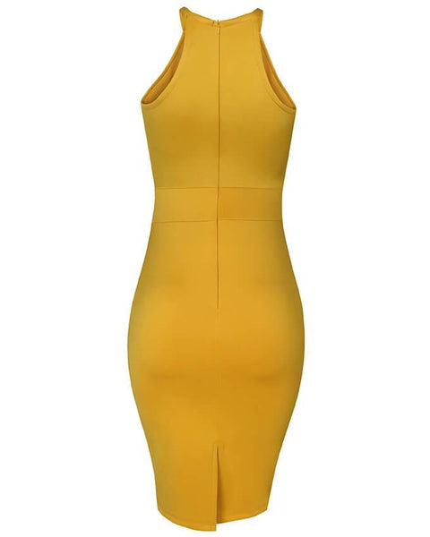 Inighi Spaghetti Pencil Dress
