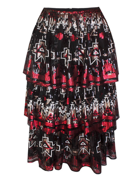 Inighi Triple Layered Skirt (Pre - Order Only)