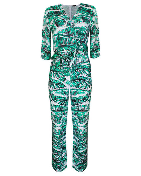 Inighi Wrap Belted Jumpsuit