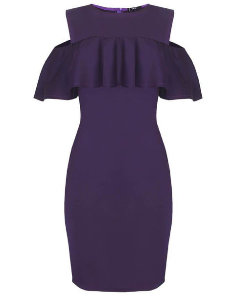 Inighi Pencil Dress With Across Bodice Detail