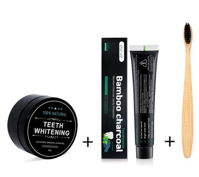 Activated Charcoal Teeth Whitening Kit