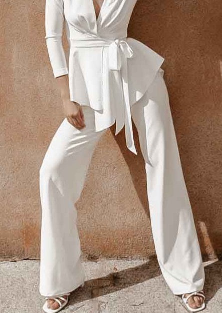 PERSIA WHITE TROUSERS