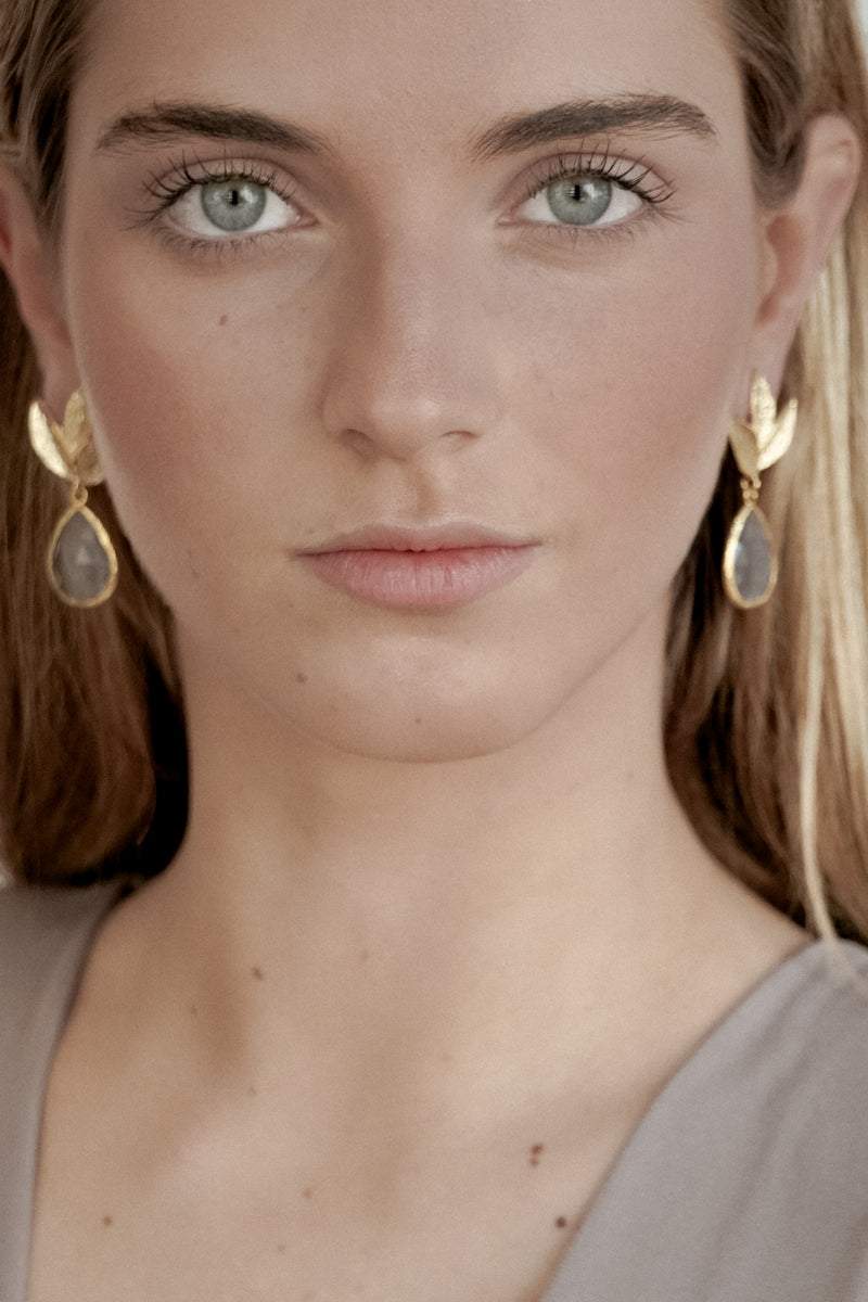 GRAY TERRA EARRINGS